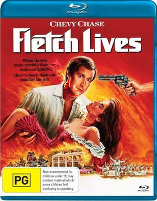 Fletch Lives NEW Blu-Ray Cult Disc Michael Ritchie Chevy Chase