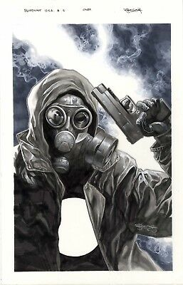 Bloodshot U.S.A. issue 2 cover by Stephen Segovia