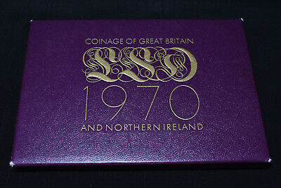 """1970 Last Pre Decimal """"coinage Of Great Britain"""" Royal Mint Proof Set"""