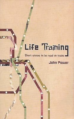 Life Training Train Buff Book Short Stories RARE Author Signed John Power SCovr