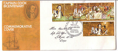 PictPMK on pictorial cover 1970 Captain Cook Celebrations. 29 April 1970 KURNELL
