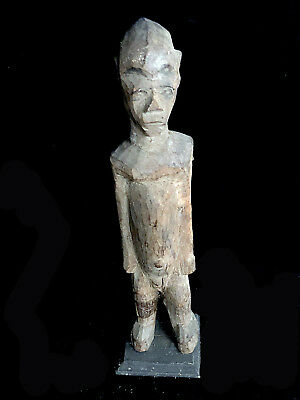 great Lobi Figure AFRICA with stand