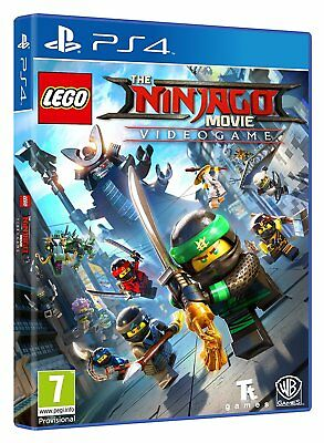 The LEGO NINJAGO Movie Videogame PS4  - PlayStation 4 NEUWARE OVP
