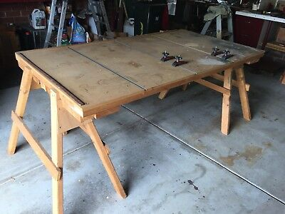 Work Bench - wood carpenters & furniture makers bench