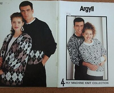 ARGYLL..4ply. MACHINE knit collection..