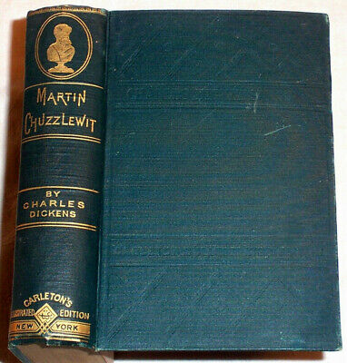 1880 Charles DICKENS Adventures of Martin Chuzzlewit  139 Years Old , England