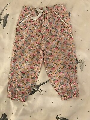 Next Girls Floral Trousers 12-18 Months