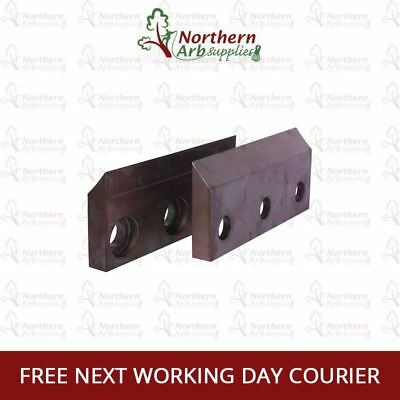 BRAND NEW Genuine Rotatech Wood Chipper Blades To Fit Lindana TP 150