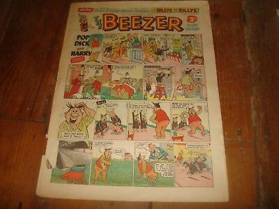 THE BEEZER #36  September 22nd  1956  UK Comic
