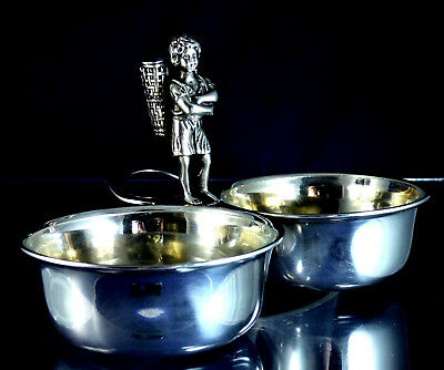 Nice, Antique, 800- Silver Spice- Toothpick Holder, Milano Ca 50 Years Old!!!