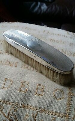 sterling silver clothes brush