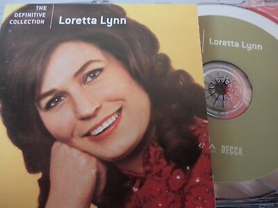 LORETTA LYNN - The Definitive Collection CD 2005 MCA AS NEW! Best Of Greatest