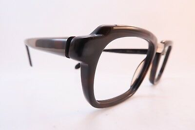 Vintage 50s eyeglasses frames acetate with gold filled bridge Rodenstock RONALD