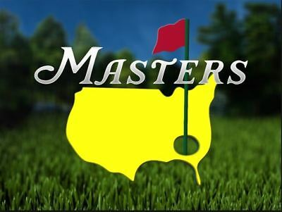 2 tickets All Day 2018 Masters Wednesday Practice Round And Par 3 Tournament