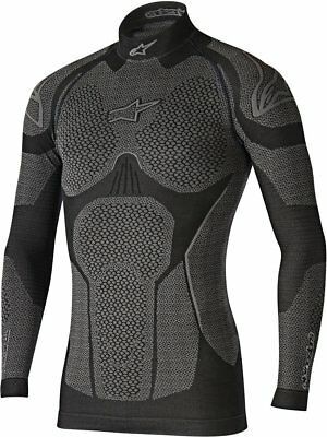 Alpinestars Mens Ride Tech Winter Long Sleeve Compression Fit Tech Layer Shirt
