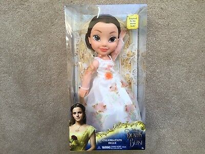 Beauty And The Beast Celebration Belle Toddler Doll