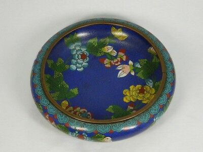 Schale Cloisonné Email 20 cm Stegemail Bowl Enamel Marke Chinese China 20. Jhd.