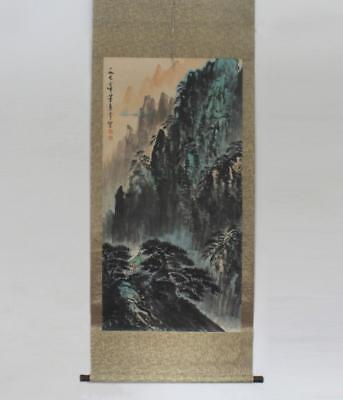 Very Rare Chinese Hand Painting Scroll Dong Shouping (110)