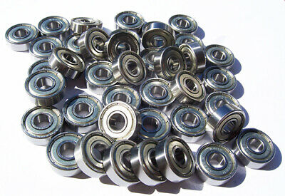 1000 Abec 9 SKATEBOARD BEARINGS 608 Bearing WARP SPEED
