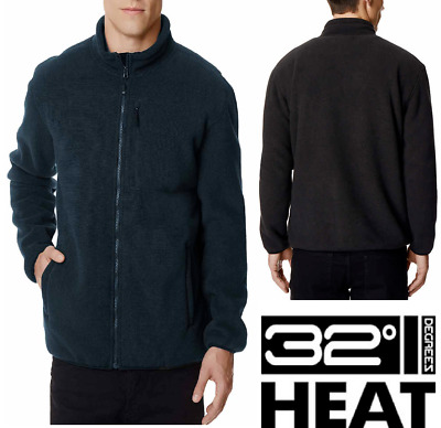 NEW!! 32 Degrees Men's Sherpa Lined Fleece Jackets Variety