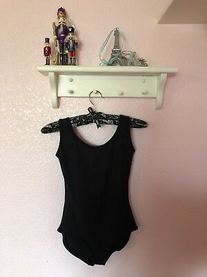Yumiko Leotard Anna: Size Small: Color N-Black: WORN ONCE!