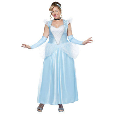 Womens Plus Size Classic Cinderella Costume Size XL 16-18  sc 1 st  PicClick : plus size womens costumes clearance  - Germanpascual.Com
