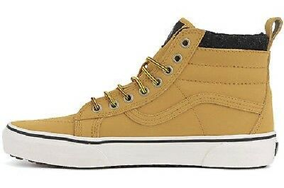 6d63692acc6 VANS SK8 HI MTE Honey Leather Black Casual Skate VN000XH4GZJ (542) Men s  Shoes
