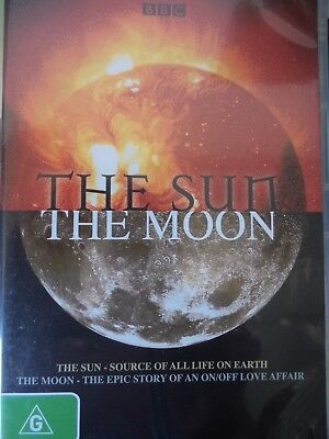 THE SUN / THE MOON DVD Documentary BBC TV Excellent Condition!