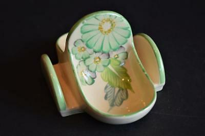 Grays Pottery toast rack with jam dishes manner of Suzie Cooper Art Deco 1930's