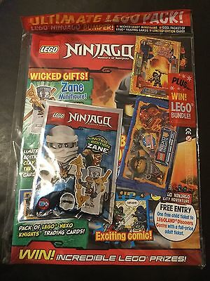 Lego NINJAGO Magazine ISSUE 24 LIMITED EDITION ZANE Mini figure.