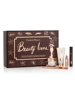 BNIB Charlotte Tilbury Beauty Icons Gift Set