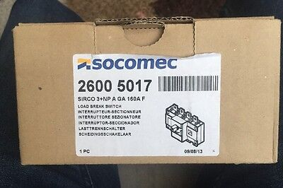 Socomec 2600 5017 Load Break Switch