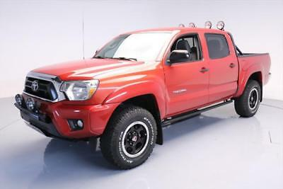 2014 Toyota Tacoma Base Crew Cab Pickup 4-Door 2014 TOYOTA TACOMA V6 DBL CAB 4X4 T FORCE REAR CAM 31K #143444 Texas Direct Auto