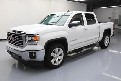 2015 GMC Sierra 1500 SLT Crew Cab Pickup 4-Door 2015 GMC SIERRA SLT CREW HTD LEATHER REAR CAM 20'S 28K #484367 Texas Direct Auto