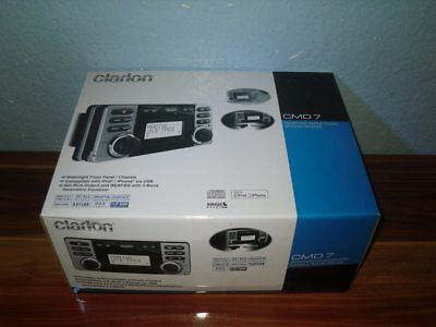 Clarion CMD-7 Marine Audio Receiver - NEW IN BOX - CD USB MP3 WMA