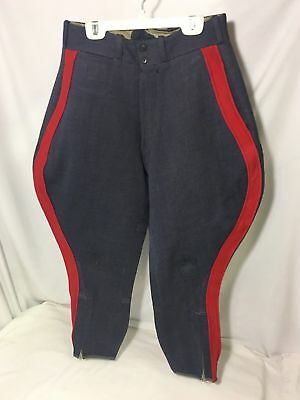 CULVER US MILITARY ARMY ROTC WWII ERA WOOL RIDING BREECHES TROUSERS PANTS 28x24