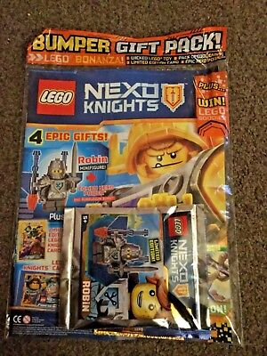 New Lego Nexo Knights Magazine Issue 14 29 March - 2 May 2017