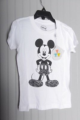 Little Eleven Paris Mickey Mouse Minnie Mouse Disney shirt Kid Youth Size 6
