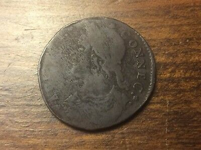 1788 Connecticut Copper Bust Left Cent @@@must see @@