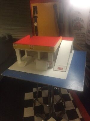Vintage Timber Toy Shell Service Station.