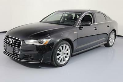 2016 Audi A6  2016 AUDI A6 3.0T PREM PLUS AWD S/C SUNROOF NAV 55K MI #005294 Texas Direct Auto