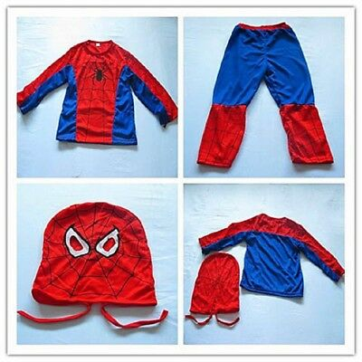 1Set Party Cosplay Spiderman Costume SMALL SIZE