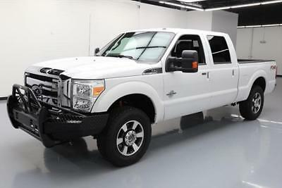 2014 Ford F-250  2014 FORD F-250 LARIAT CREW DIESEL FX4 4X4 LEATHER 75K #A03339 Texas Direct Auto
