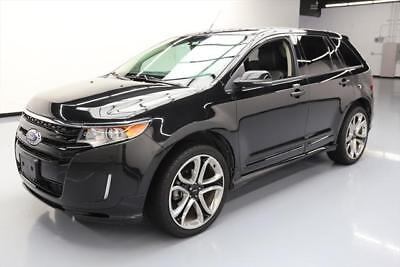 2014 Ford Edge Sport Sport Utility 4-Door 2014 FORD EDGE SPORT LEATHER NAV REARVIEW CAM 22'S 52K #B75094 Texas Direct Auto