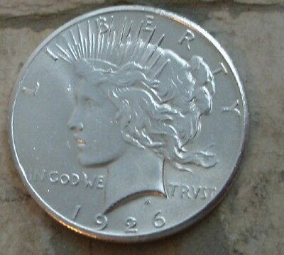 1926 Peace Silver Dollar.. Gem Bu
