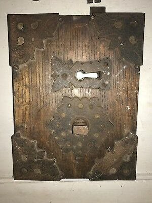 Very Old and Heavy Lock with Key
