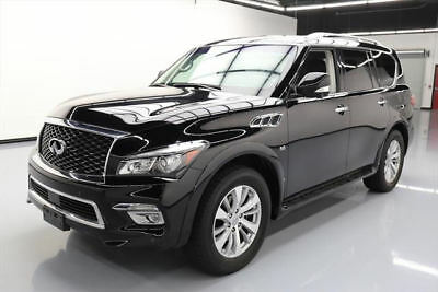 2017 Infiniti QX80 Base Sport Utility 4-Door 2017 INFINITI QX80 SUNROOF NAV HTD LEATHER 20'S 26K MI #643514 Texas Direct Auto