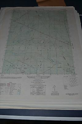 1940's Army (like USGS) topo map Woodmansie New Jersey 6163 IV SW w/ Photo