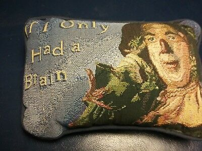 """Wizard of Oz """"If I Only Had A Brain"""" Pillow"""