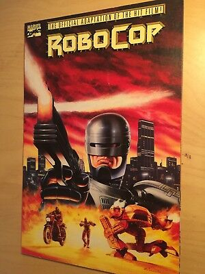 ROBOCOP official Marvel Comics adaptation TPB prestige format 80s sci-fi film